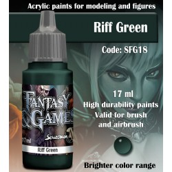 Scale75 RIFF GREEN 17 ml