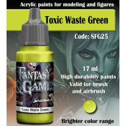 Scale75 TOXIC WASTE GREEN 17 ml