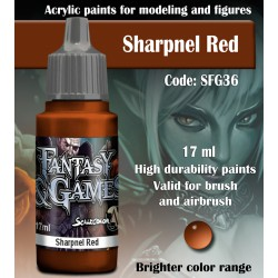 Scale75 SHARPNEL RED 17 ml
