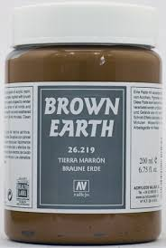 Vallejo Brown Earth 200 ml