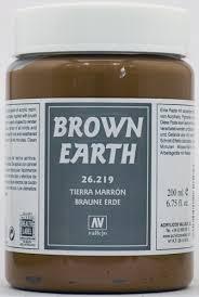 Vallejo Brown Earth 200 ml