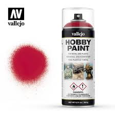 Vallejo Spray Primer Fantasy Bloody Red 400 ml