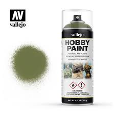 Vallejo Spray Primer Fantasy Goblin Green 400 ml