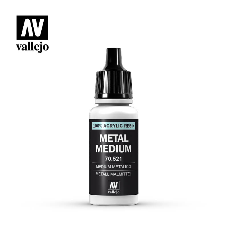 Vallejo Model Color 191 - Metal Medium