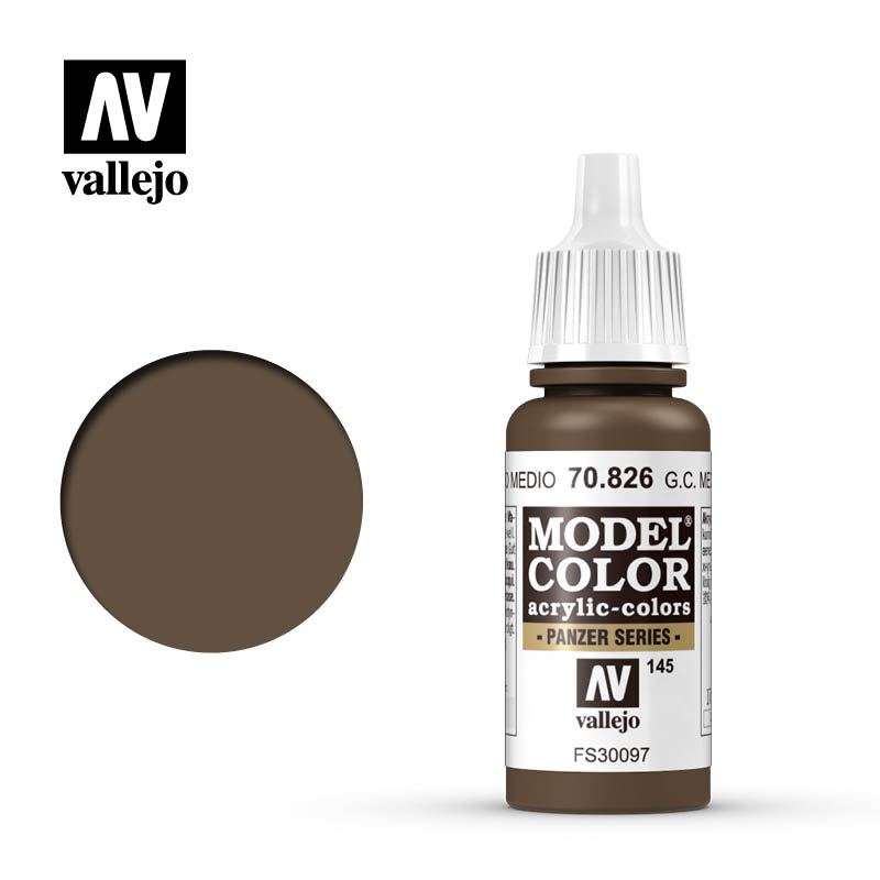 Vallejo Model Color 145 - German Camo Medium Brown