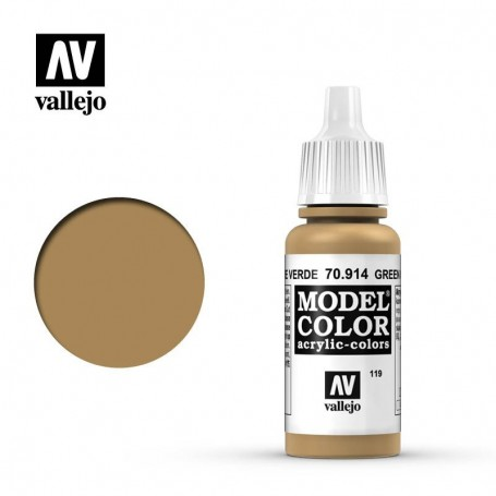 Vallejo Model Color 119 - Green Ochre