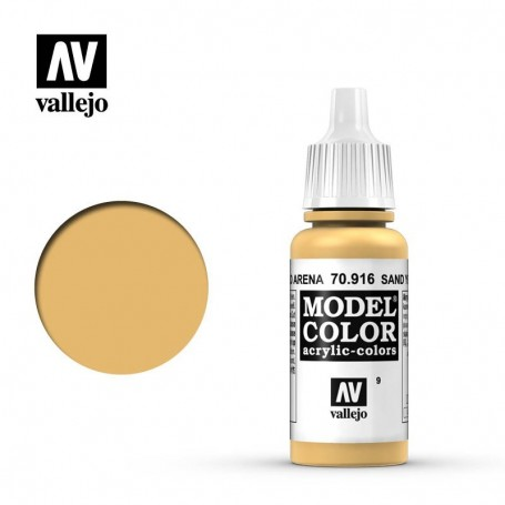 Vallejo Model Color 009 - Sand Yellow