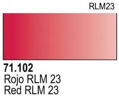 Vallejo Model Air 102 - Red RLM 23