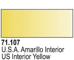 Vallejo Model Air 107 - US Interior Yellow