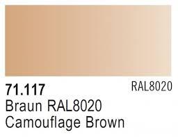 Vallejo Model Air 117 - Camouflage Brown RAL 8020
