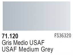 Vallejo Model Air 120 - USAF MediumGrey FS 36320/RAL 7000