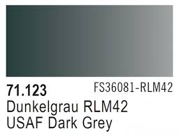 Vallejo Model Air 123 - USAF Dark Grey RLM 7012/RAL 42