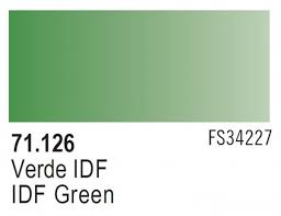 Vallejo Model Air 126 - IDF Green FS 34227