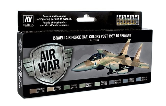 Vallejo Model Air - Israeli Air Force (IAF) Colors Post 1967 to Present