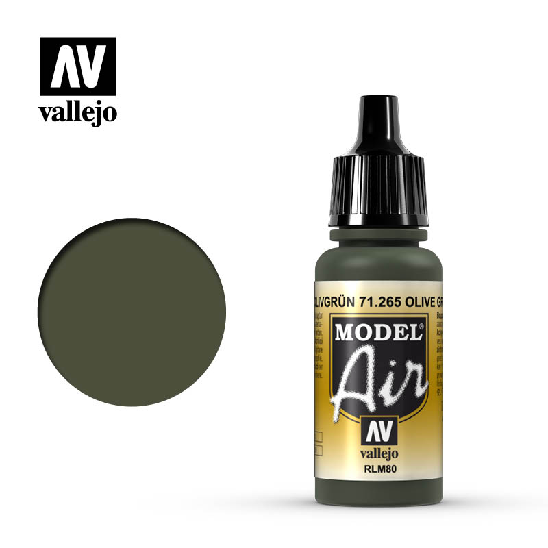 Vallejo Model Air 265 - Olive Green RLM80