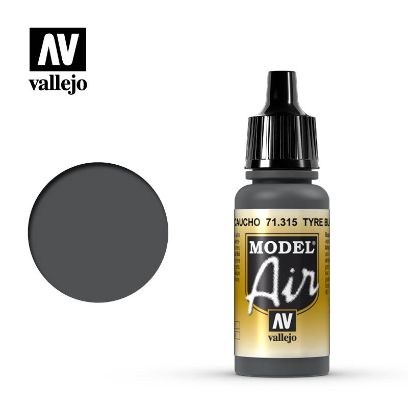 Vallejo Model Air 315 - Tyre Black