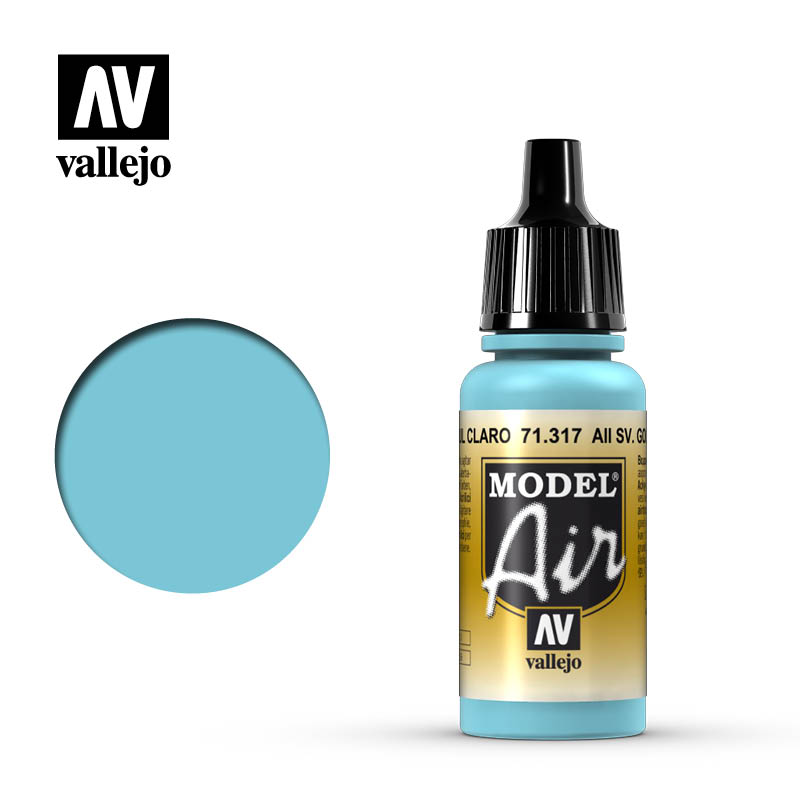 Vallejo Model Air 317 - AII SV. Gol Light Blue