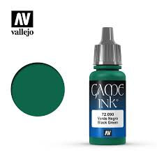 Vallejo Game Color - Black Green (Ink)