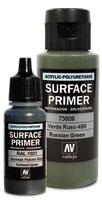 Vallejo Primer, Black, 60 ml
