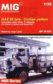 MIG Productions GAZ 66 type - Civilian Pattern